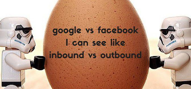 もしかしたらFacebookがgoogleを打ち負かしネットを制覇する気がしてきた